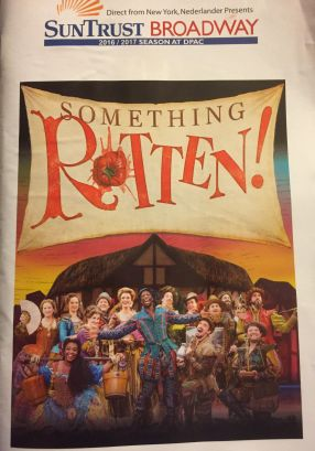 something rotten playbill