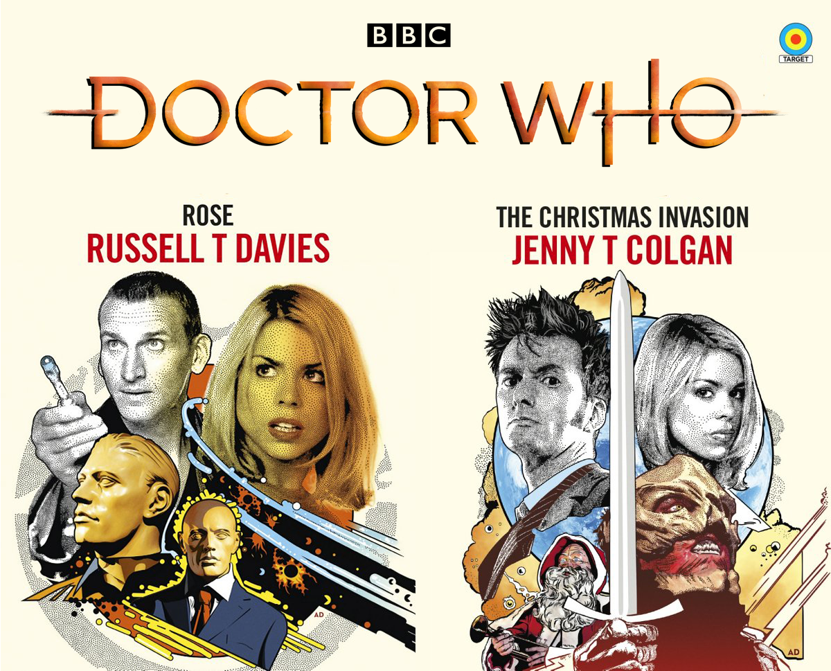 Doctor Who The Christmas Invasion.Rose And The Christmas Invasion Round Out The First Wave