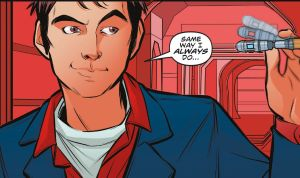 tenth doctor comic