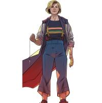 thirteenth doctor - rachael stott color