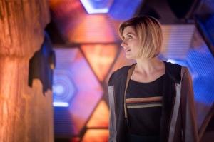 Jodie in new TARDIS