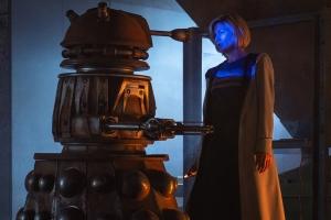Jodie and Dalek