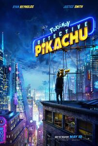 detective pikachu - poster