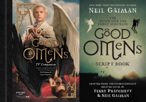 good omens books